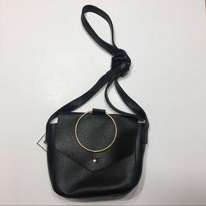 Handbags - NWT Black & Gold Crossbody Purse